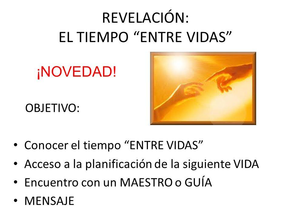 REVELACIÓN: EL TIEMPO ENTRE VIDAS