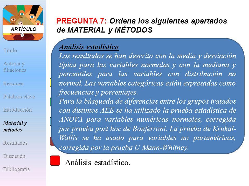 Diseño y ámbito de aplicación del estudio.