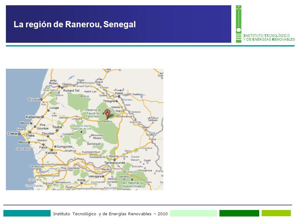 La región de Ranerou, Senegal