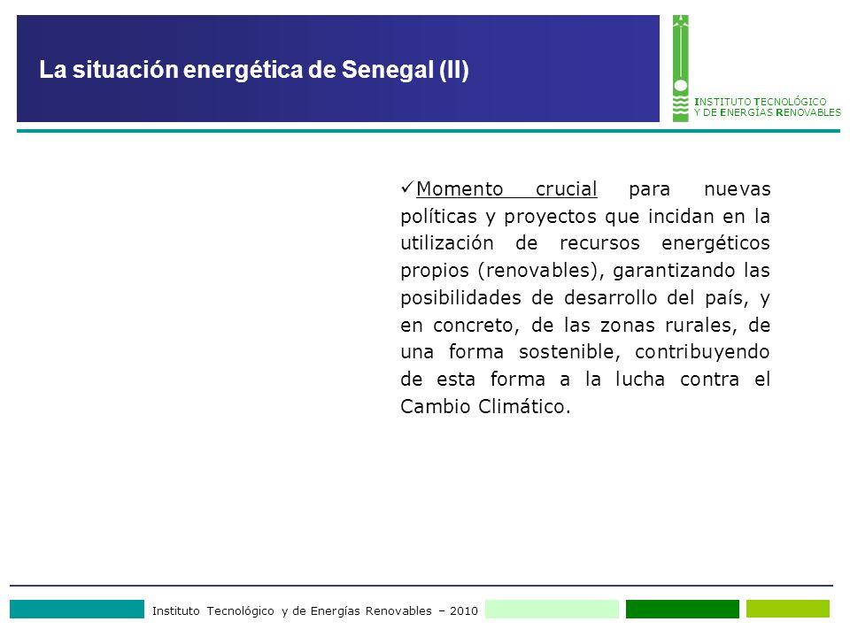 La situación energética de Senegal (II)