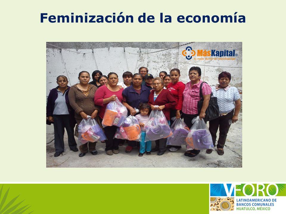 Feminización de la economía