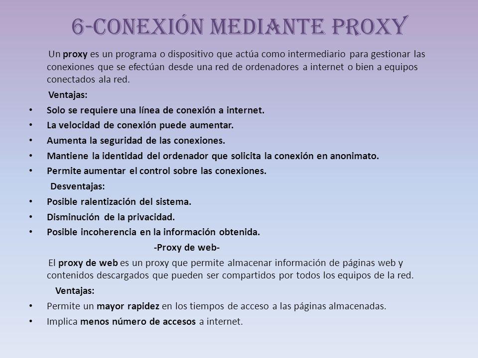 6-Conexión mediante proxy