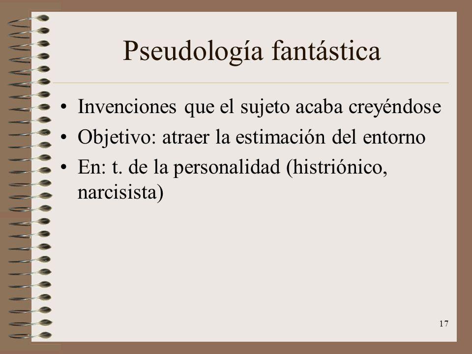 Pseudología fantástica