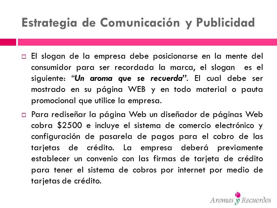 Estrategia de Comunicación y Publicidad
