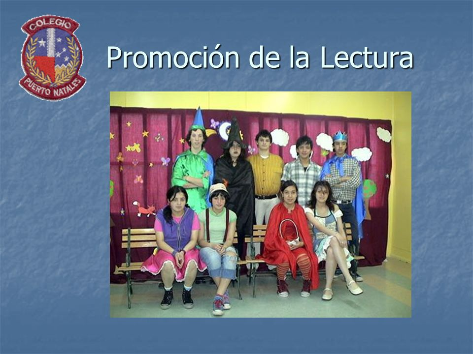 Promoción de la Lectura