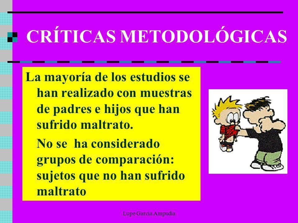CRÍTICAS METODOLÓGICAS