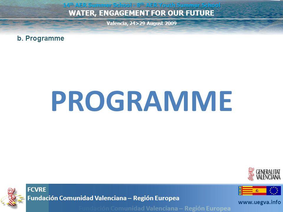b. Programme PROGRAMME