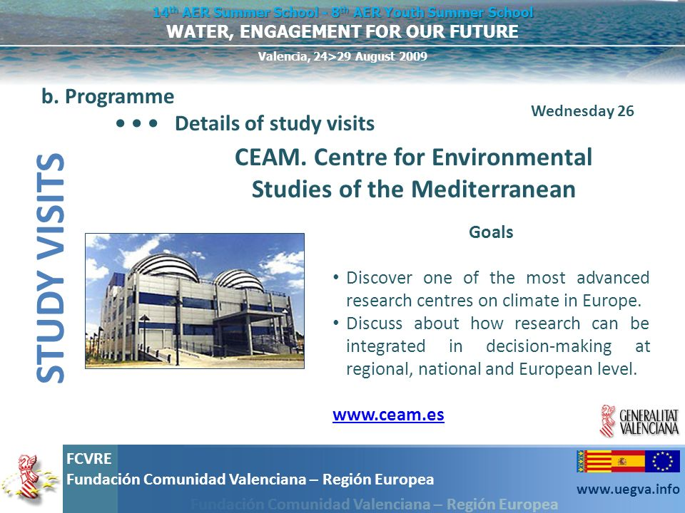 CEAM. Centre for Environmental Studies of the Mediterranean