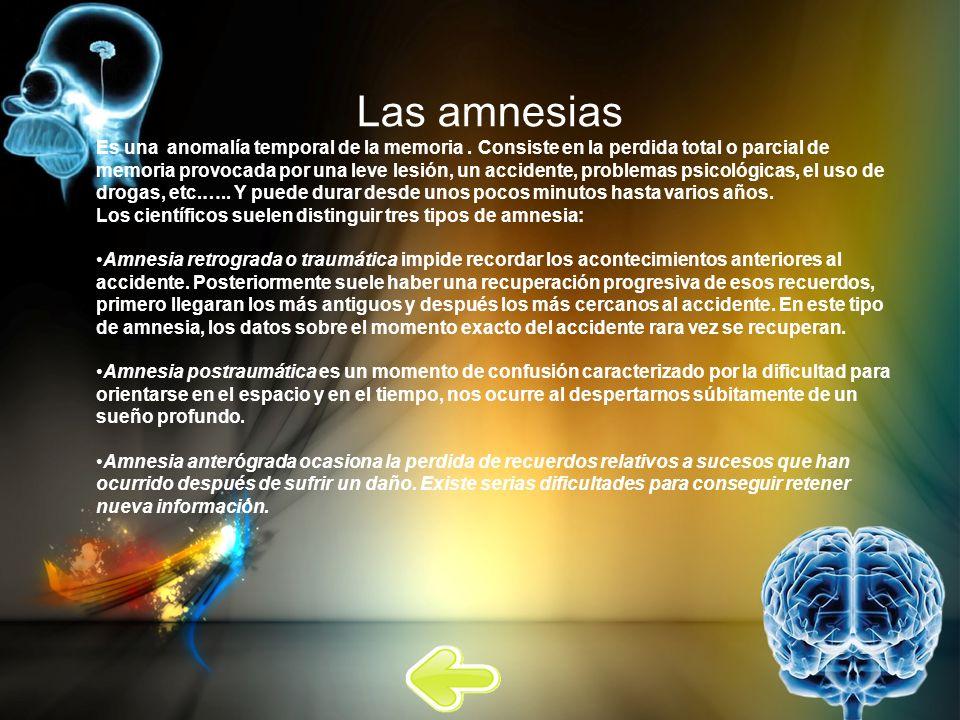 Las amnesias