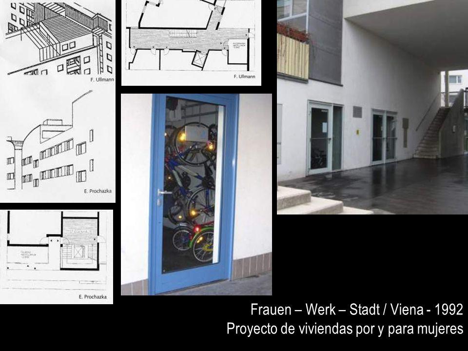 Frauen – Werk – Stadt / Viena - 1992 Proyecto de viviendas por y para mujeres