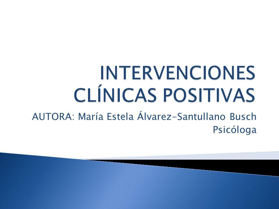 INTERVENCIONES CLÍNICAS POSITIVAS
