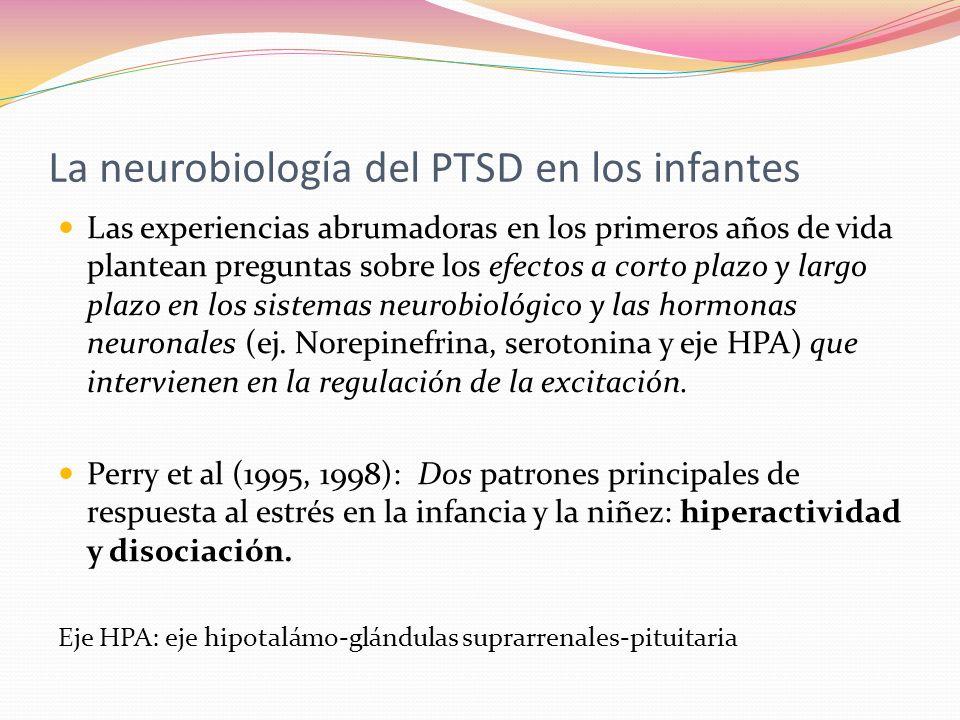 La neurobiología del PTSD en los infantes