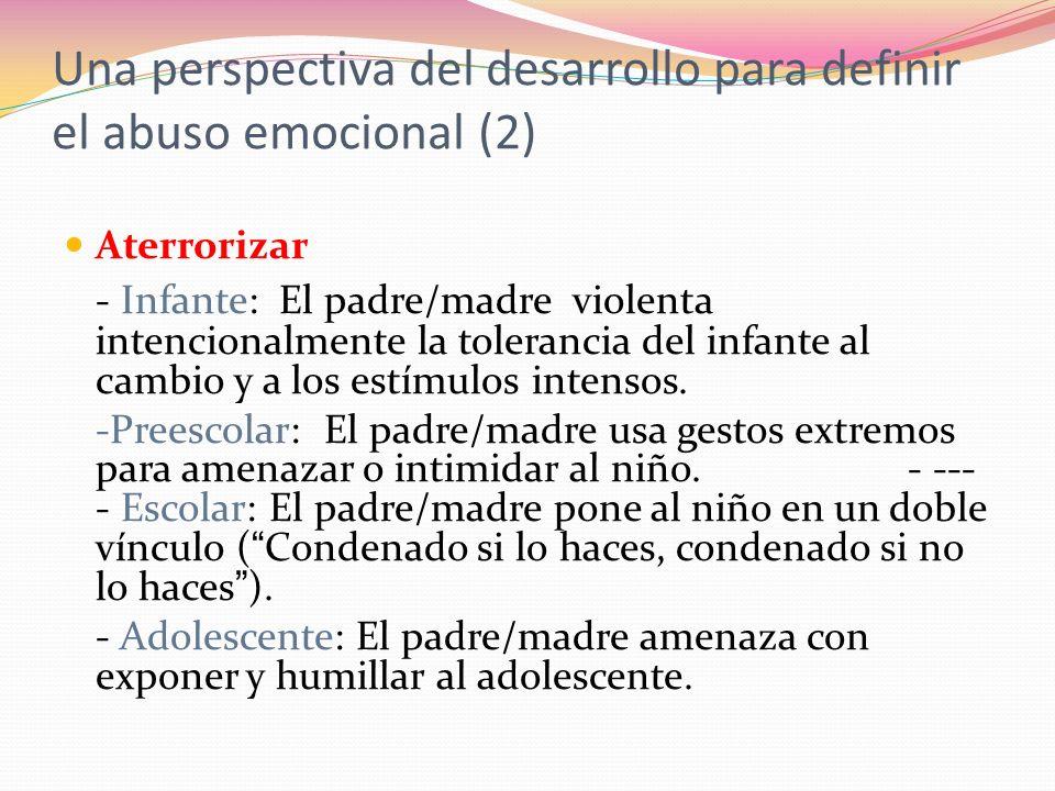Una perspectiva del desarrollo para definir el abuso emocional (2)
