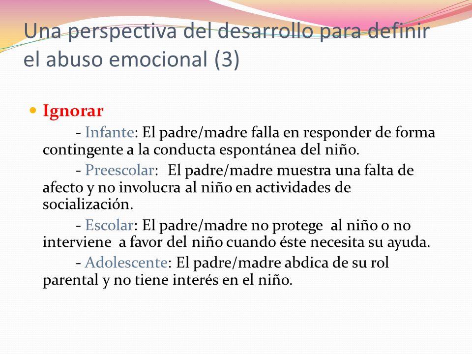 Una perspectiva del desarrollo para definir el abuso emocional (3)