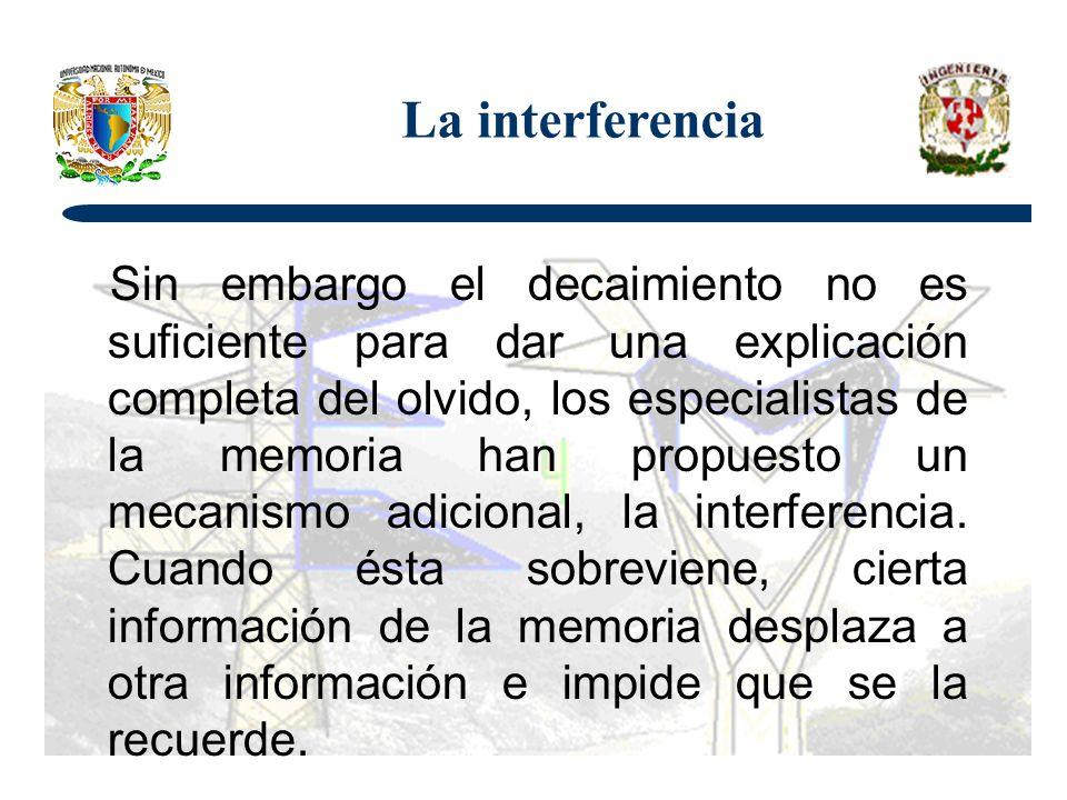La interferencia