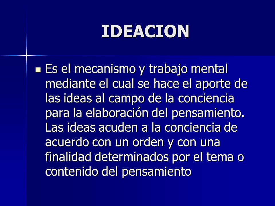 IDEACION