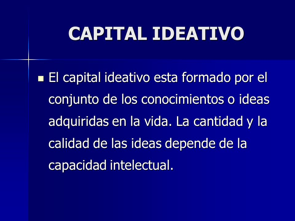 CAPITAL IDEATIVO