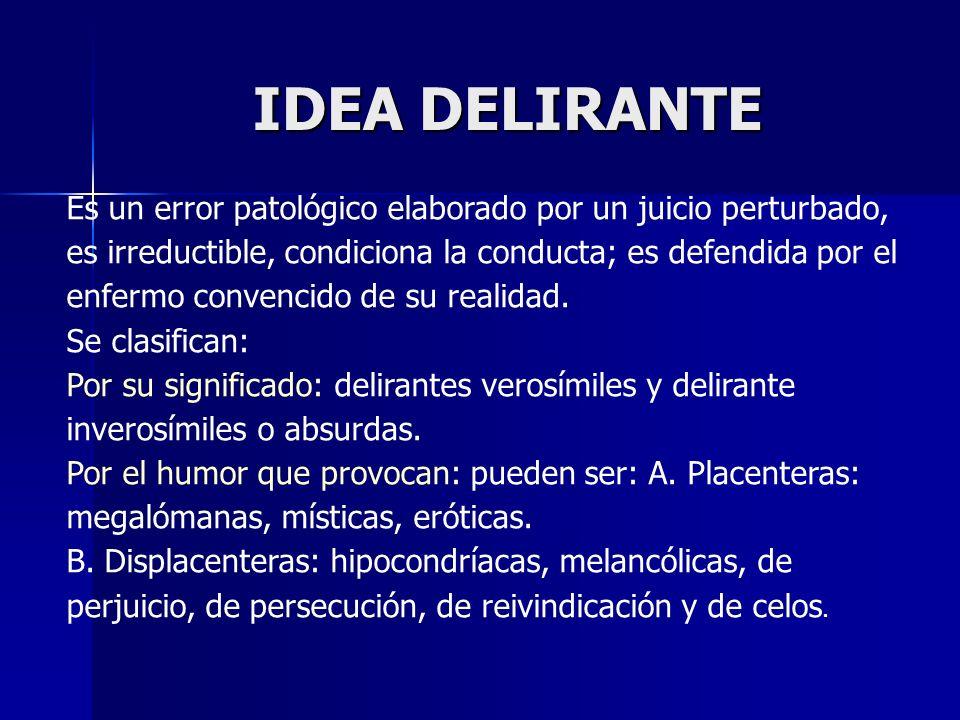IDEA DELIRANTE