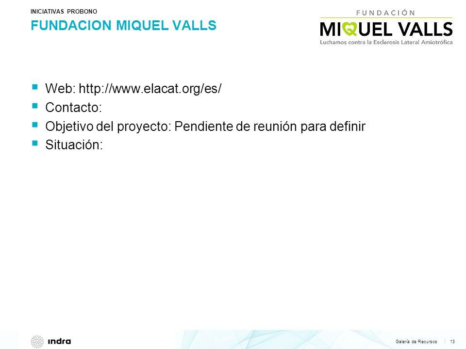 FUNDACION MIQUEL VALLS