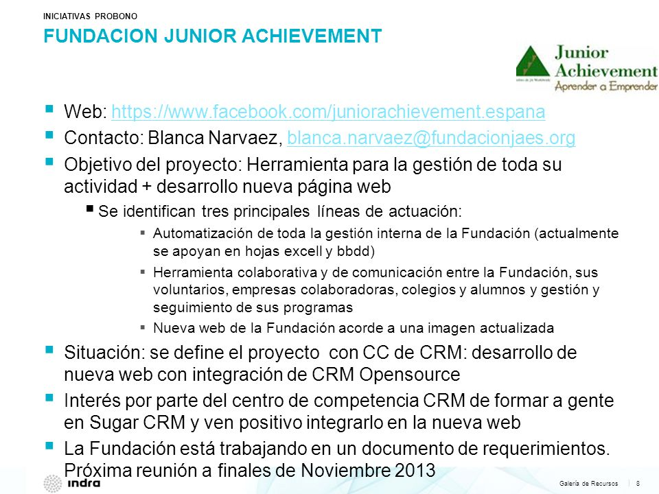 FUNDACION JUNIOR ACHIEVEMENT
