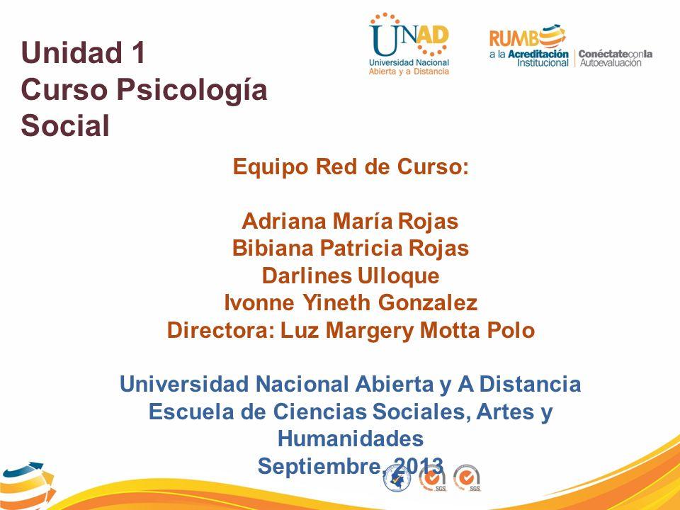 Curso Psicología Social