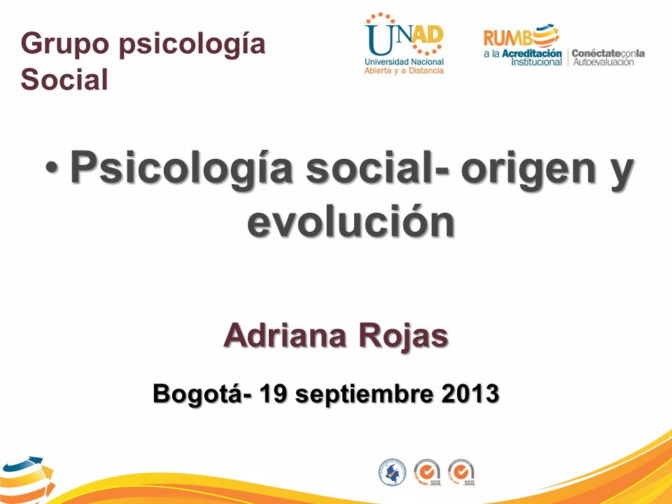 Psicología social- origen y evolución