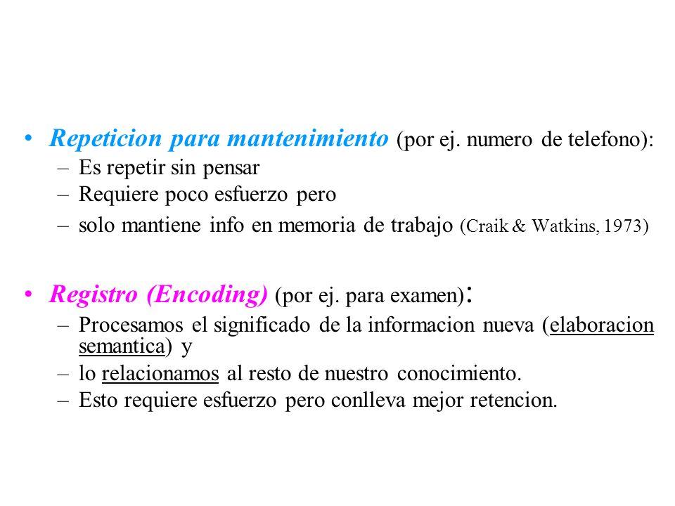 Repeticion para mantenimiento (por ej. numero de telefono):