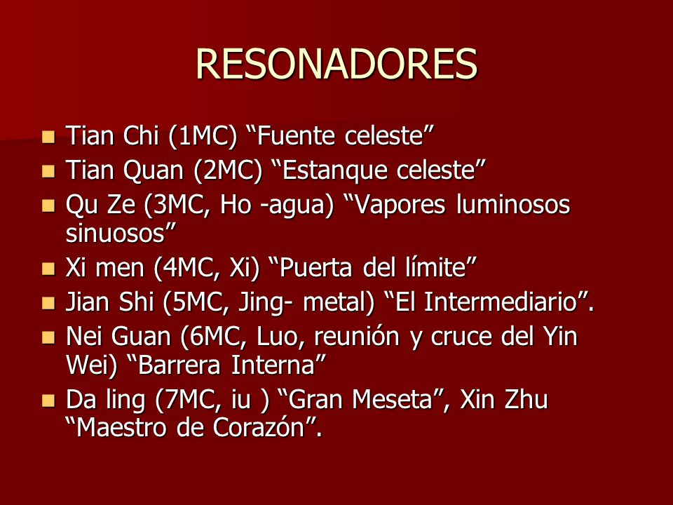 RESONADORES Tian Chi (1MC) Fuente celeste