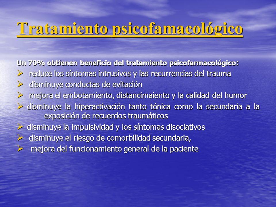 Tratamiento psicofamacológico