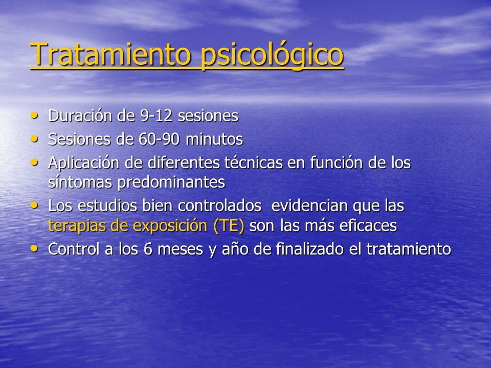 Tratamiento psicológico