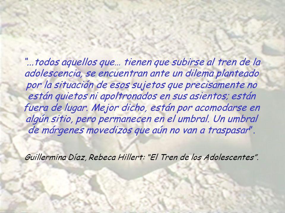 Guillermina Díaz, Rebeca Hillert: El Tren de los Adolescentes .