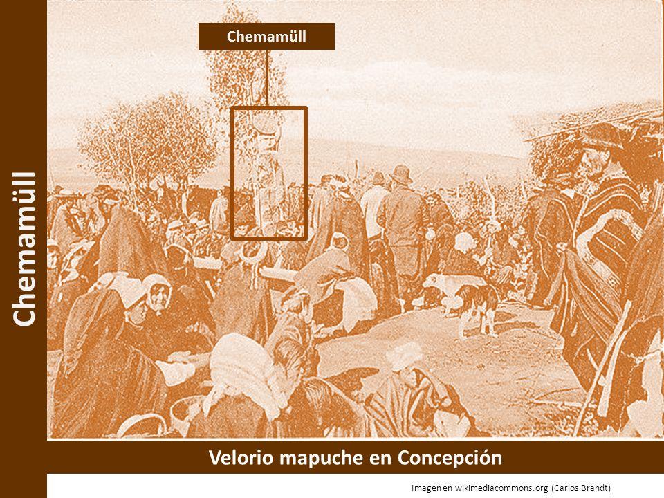 Velorio mapuche en Concepción