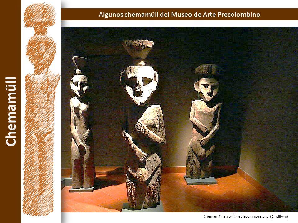 Algunos chemamüll del Museo de Arte Precolombino