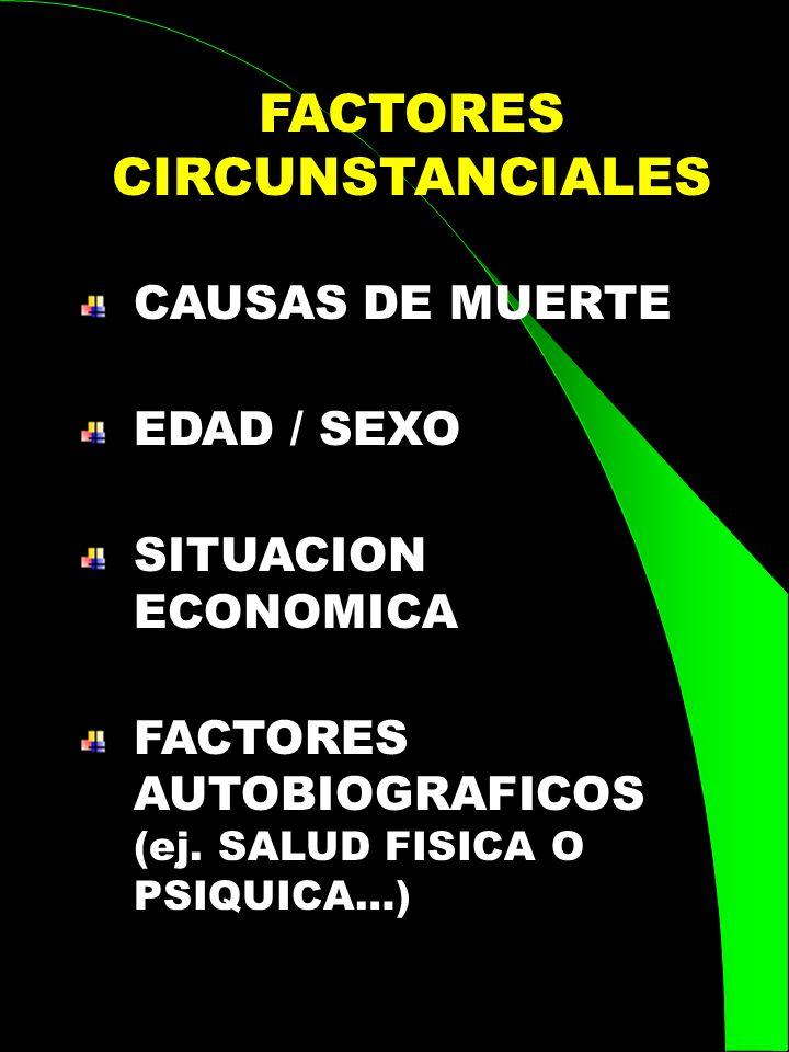 FACTORES CIRCUNSTANCIALES