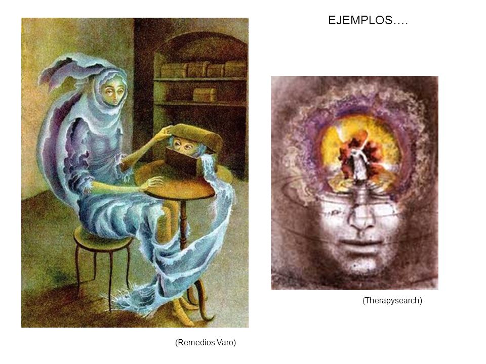EJEMPLOS…. (Therapysearch) (Remedios Varo)