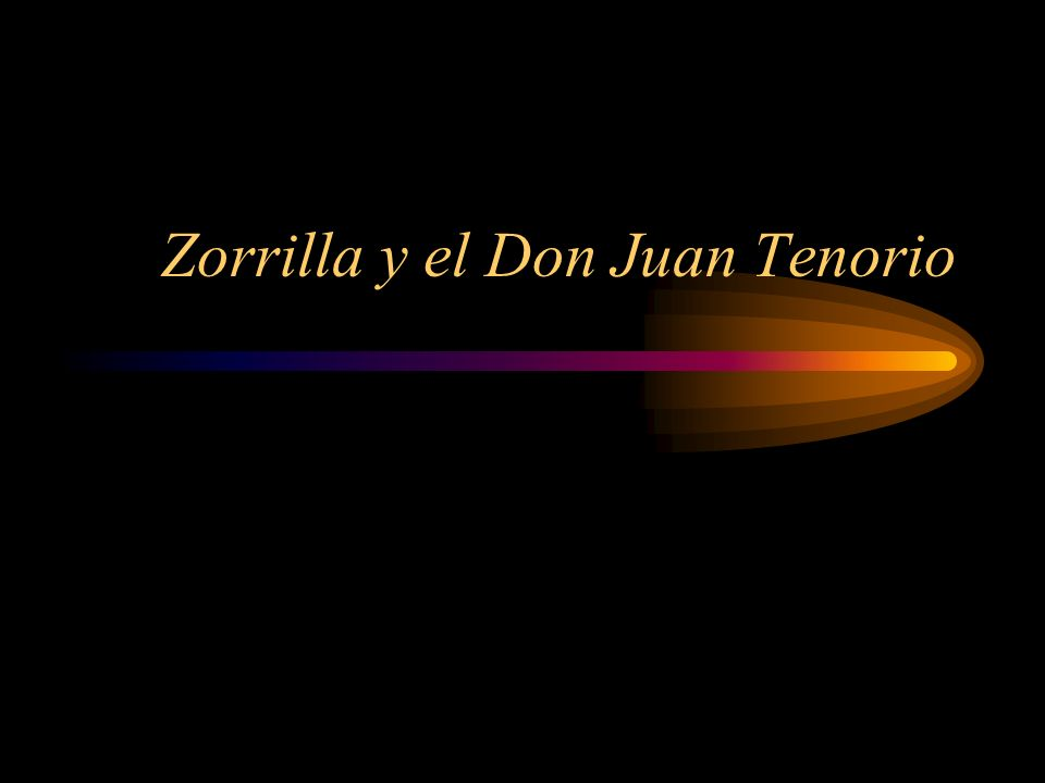 Zorrilla y el Don Juan Tenorio
