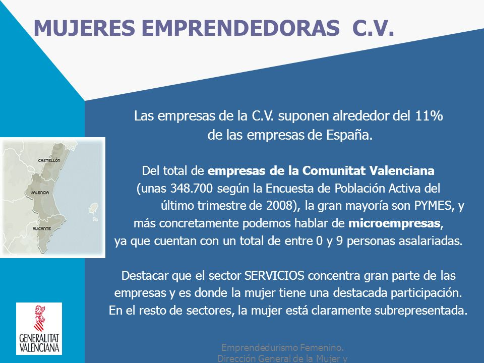 MUJERES EMPRENDEDORAS C.V.