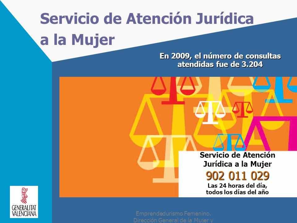 Servicio de Atención Jurídica a la Mujer