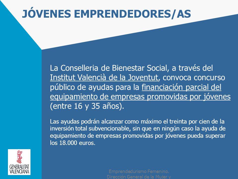 JÓVENES EMPRENDEDORES/AS