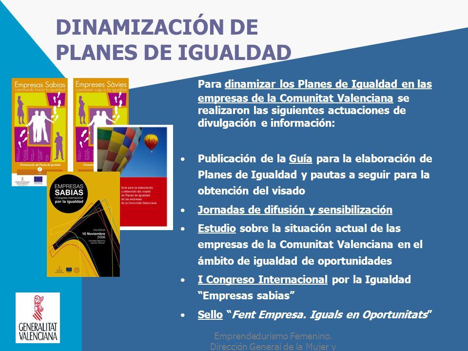 DINAMIZACIÓN DE PLANES DE IGUALDAD