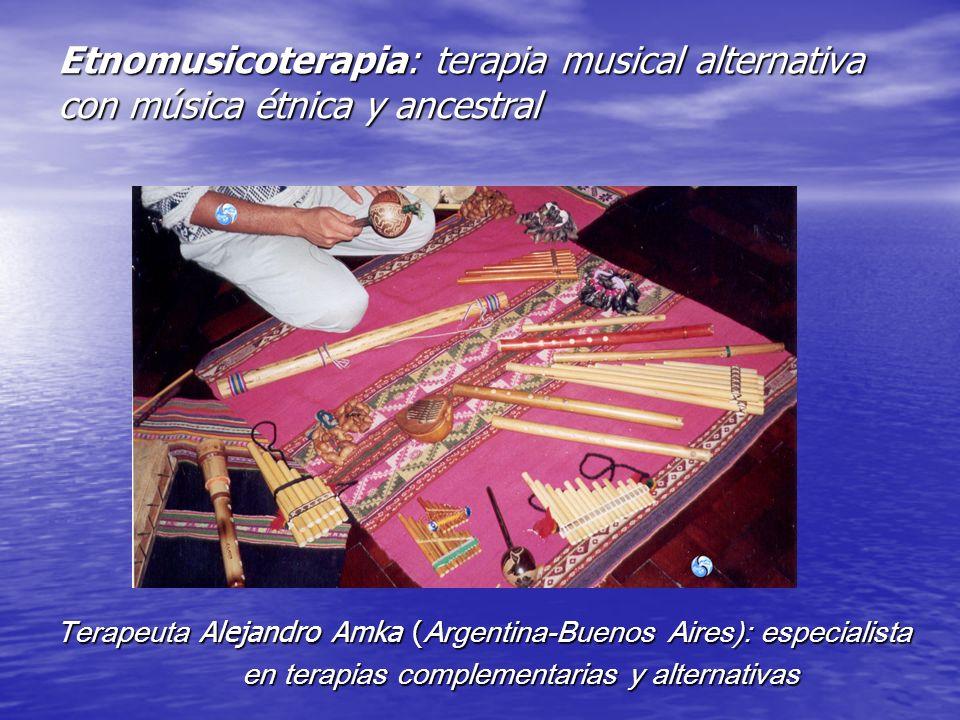 Etnomusicoterapia: terapia musical alternativa con música étnica y ancestral