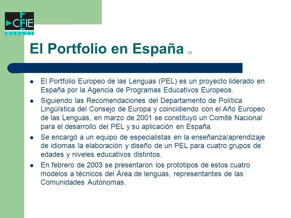 El Portfolio en España (1)