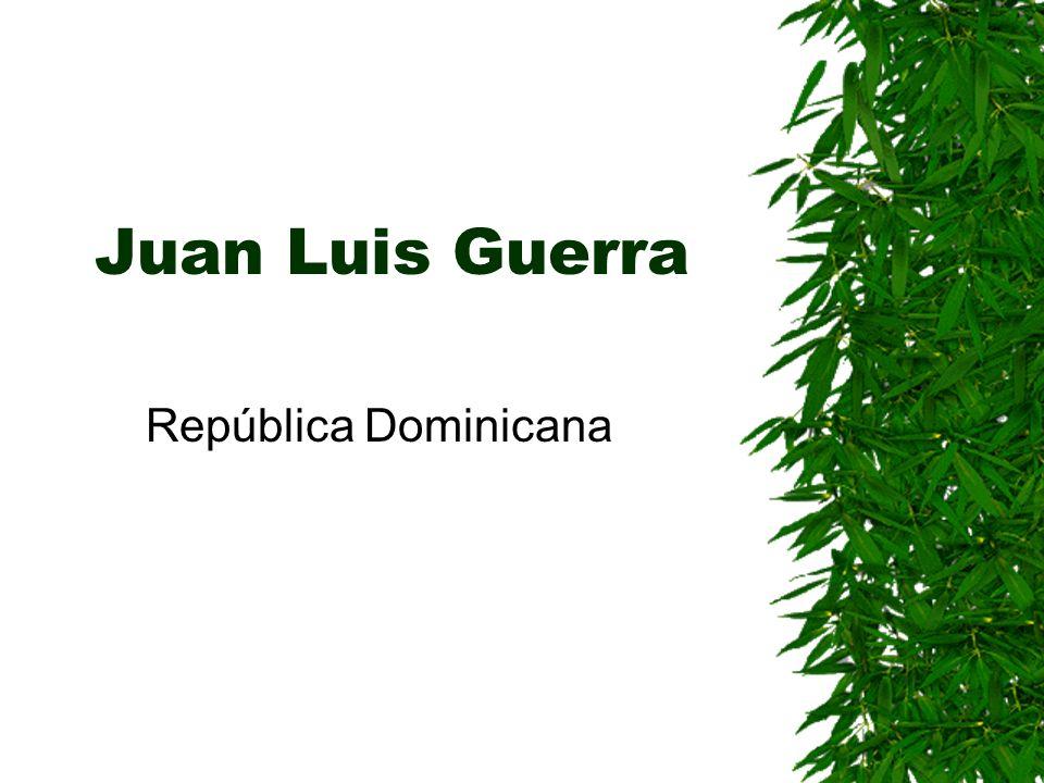 Juan Luis Guerra República Dominicana
