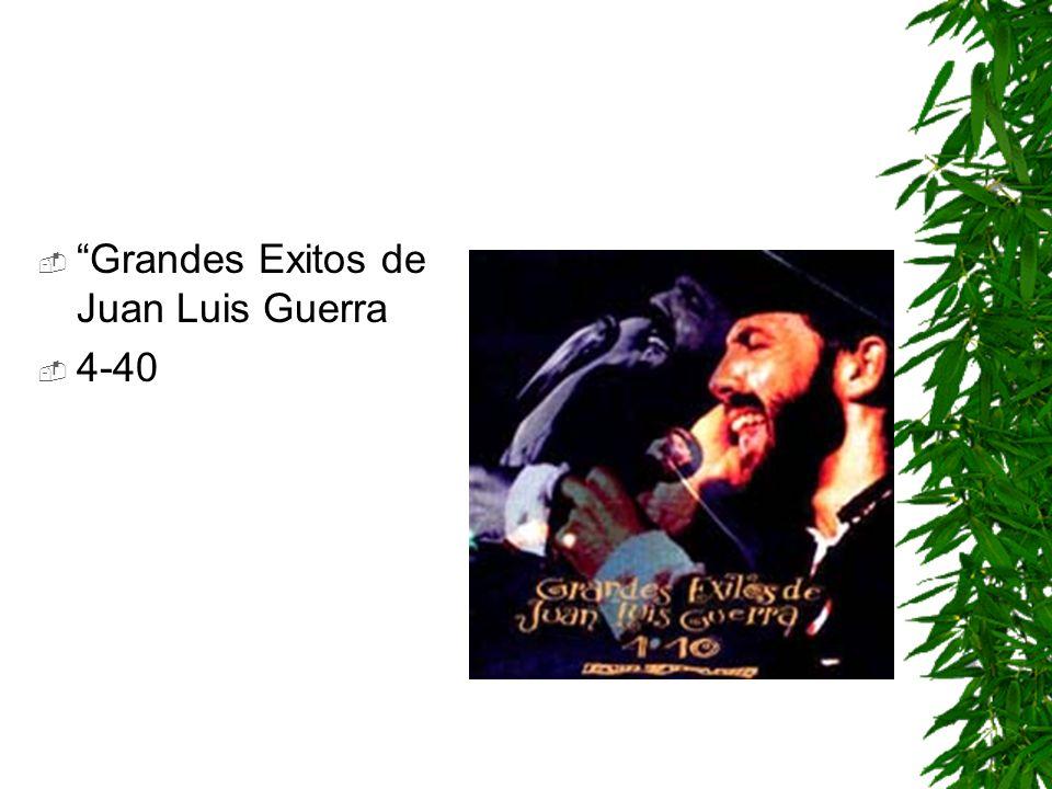 Grandes Exitos de Juan Luis Guerra