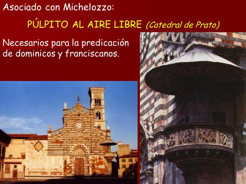 PÚLPITO AL AIRE LIBRE (Catedral de Prato)
