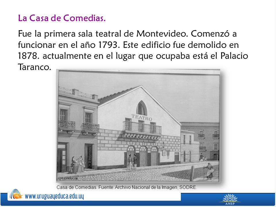 La Casa de Comedias.