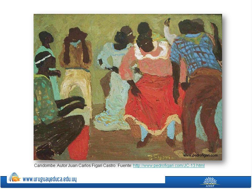 Candombe. Autor Juan Carlos Figari Castro. Fuente: http://www