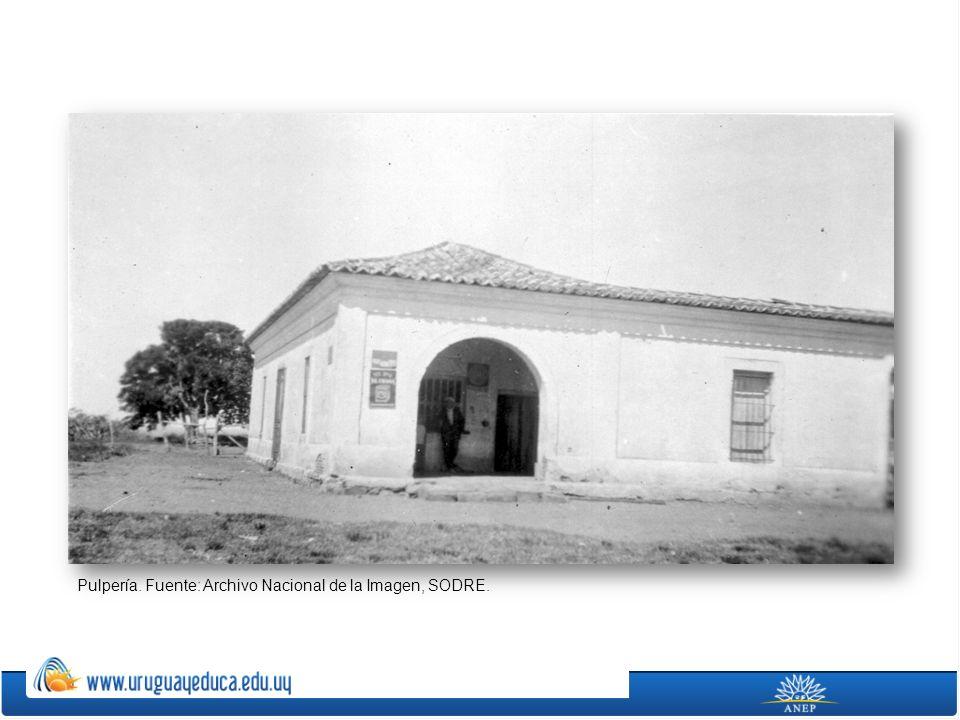 Pulpería. Fuente: Archivo Nacional de la Imagen, SODRE.