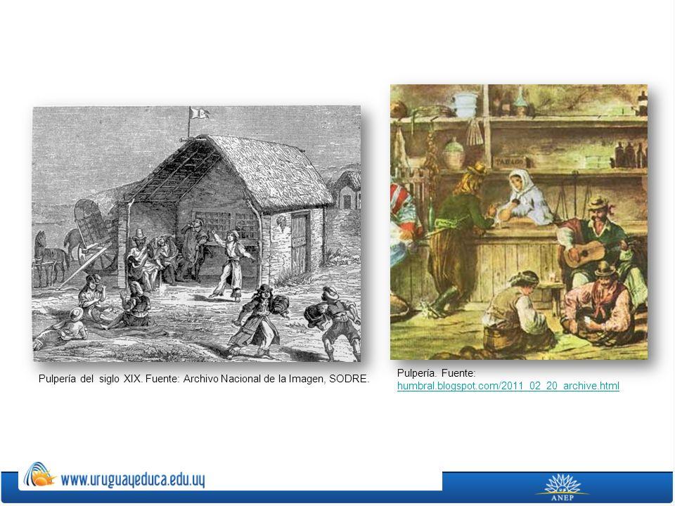 Pulpería. Fuente: humbral.blogspot.com/2011_02_20_archive.html