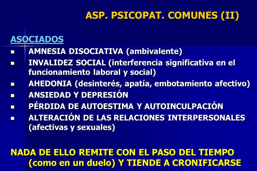ASP. PSICOPAT. COMUNES (II)